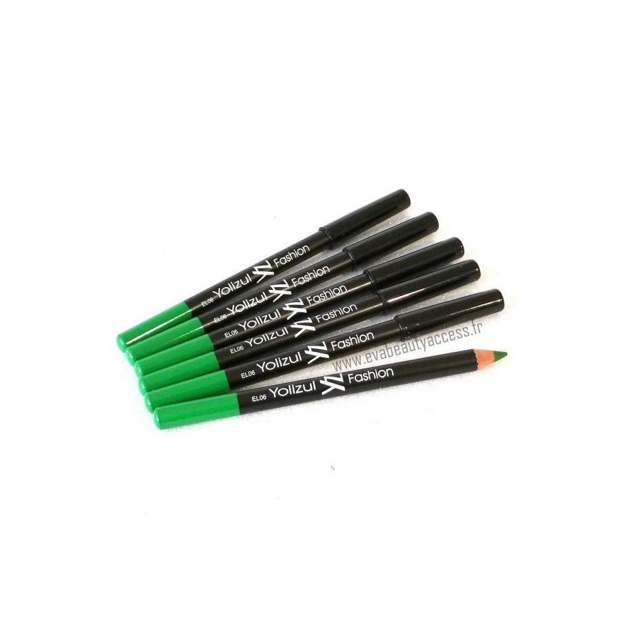 Eye Liner Longue Tenue Top Fix Color Vert - YOLIZUL