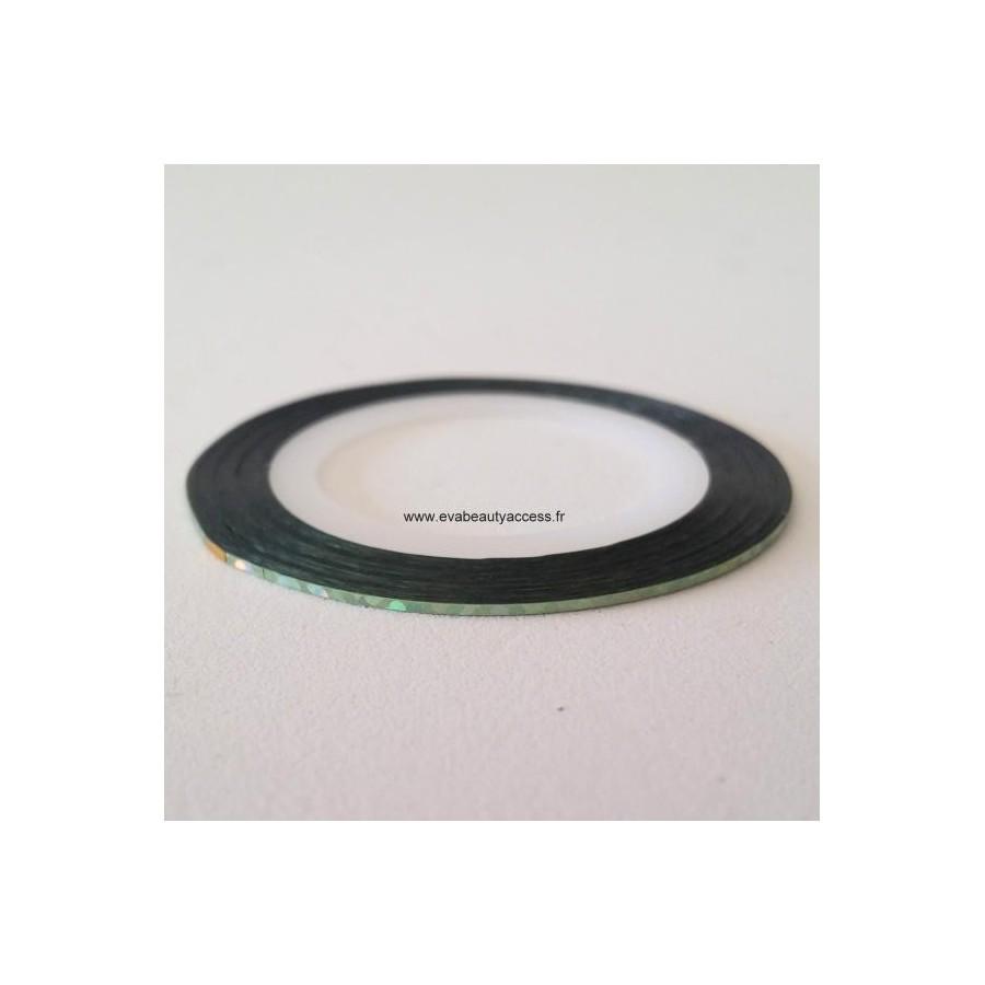 Stripping Tape 'Holographique' Vert Eau