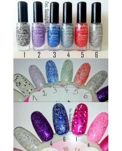 Vernis Effet Plume - LETICIA WELL
