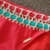 Bikini Crochet Corail Fluo - SWEAT SECRET