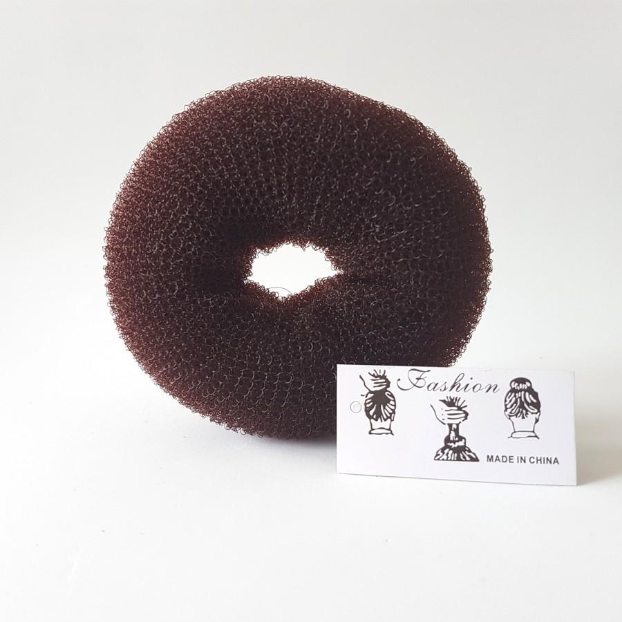 Donuts Chignon Chatain