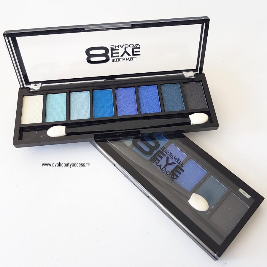 """""""8 Eye Shadow"""" - 34453 Bleu - LETICIA WELL"""