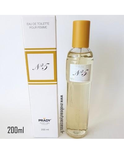 N°5 FEMME 200ML - PRADY