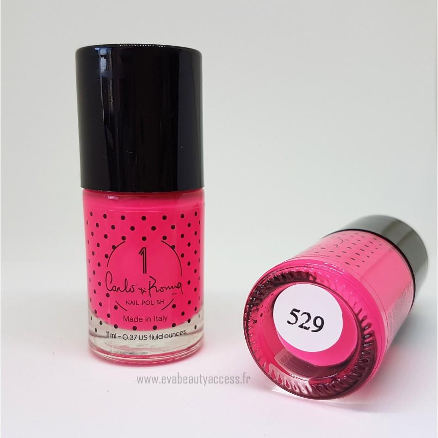 Vernis Pink Fluor 529 - CARLO DI ROMA