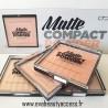 Matte Powder Compact - D'DONNA