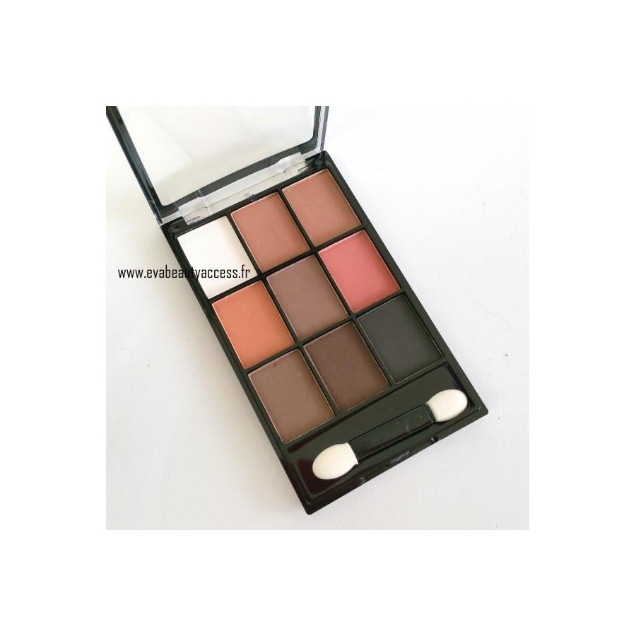 Palette - MATTE EYE SHADOW - Nudes - D'DONNA