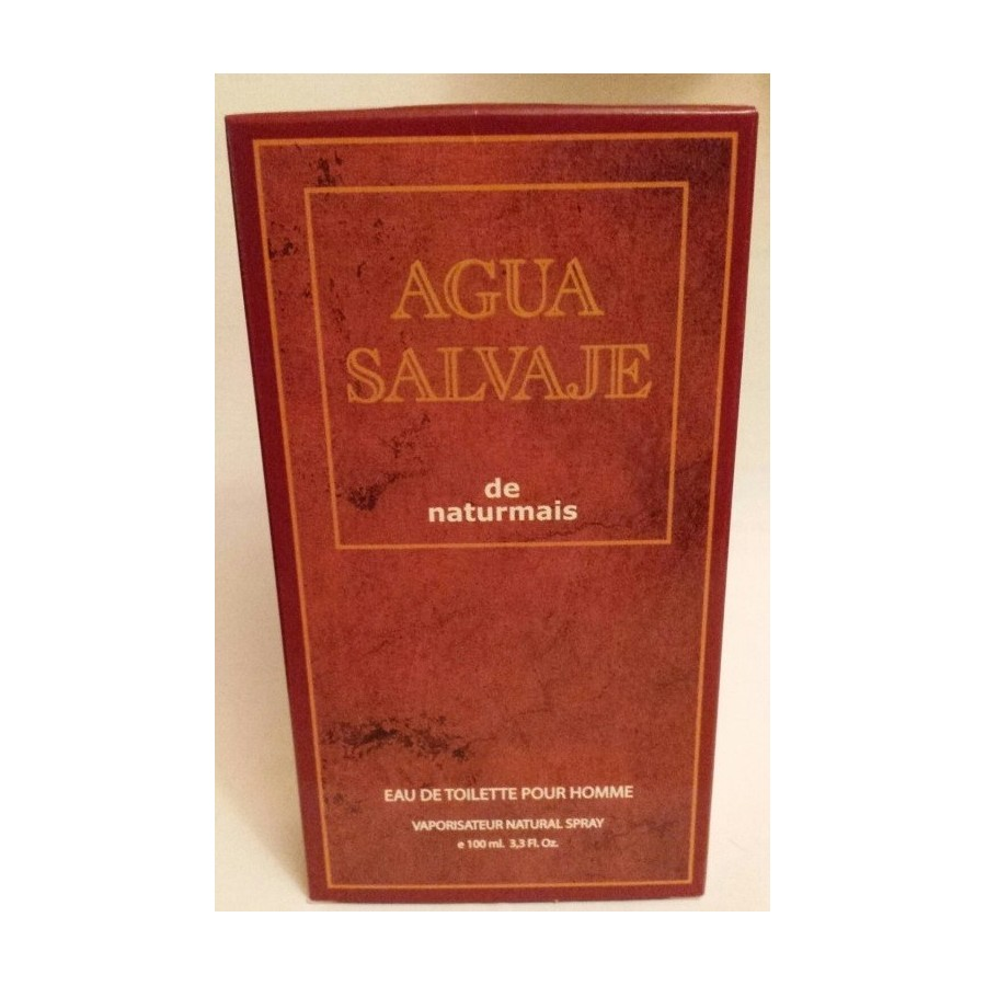 AGUA SALVAJE - HOMME 100ML - NATURMAIS