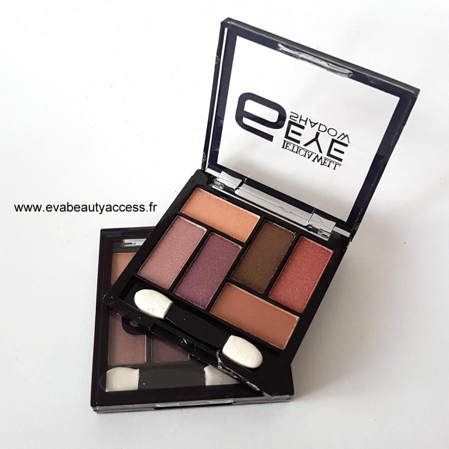 Palette - 6 Eye Shadow - 34113 - LETICIA WELL