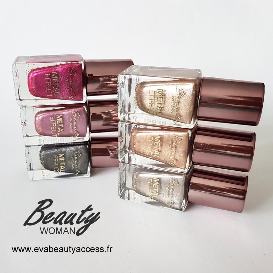 vernis effet m tal beauty woman eva beauty access. Black Bedroom Furniture Sets. Home Design Ideas