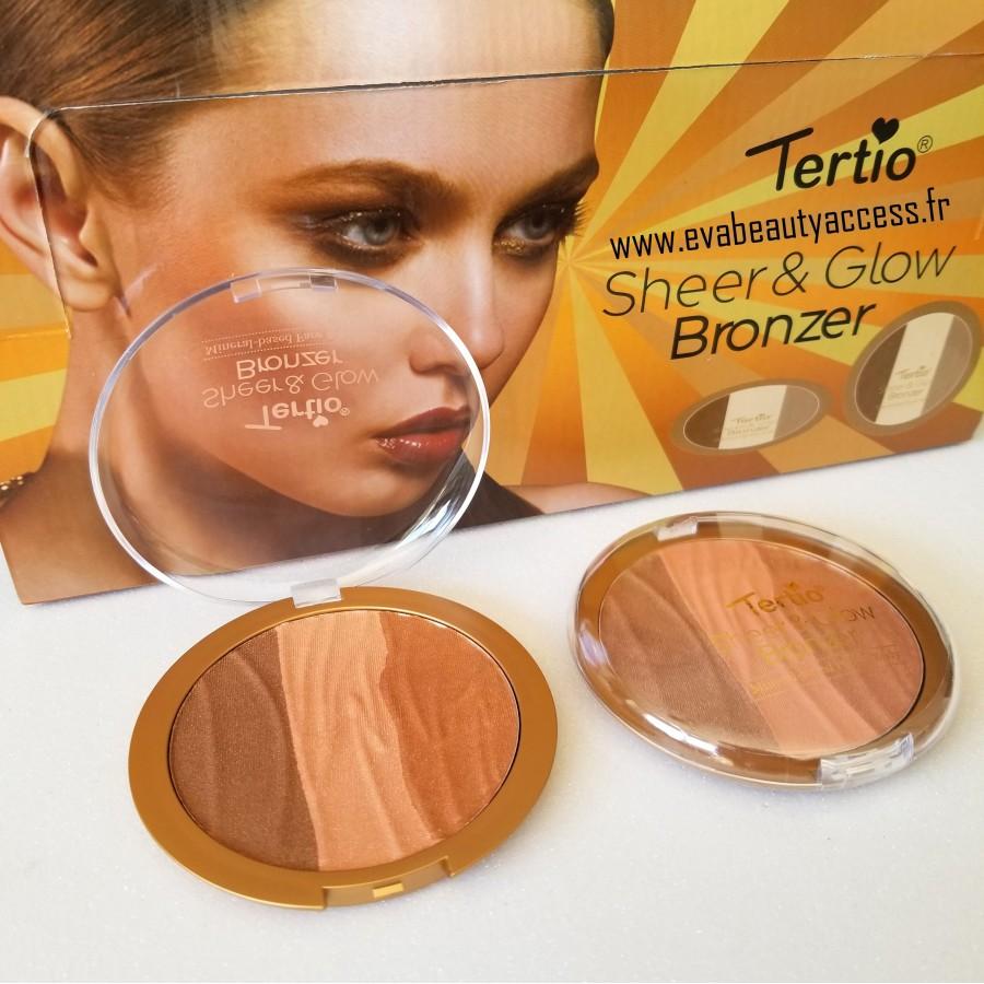 Sheer & Glow Bronzer - 02 - TERTIO