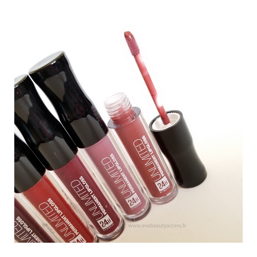 Unlimited 24H Permanent Lip GLoss - D'DONNA