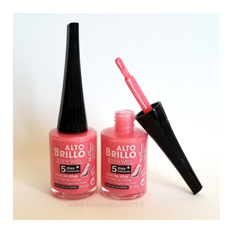 Vernis Haute Brillance 5 Jours - N°626 - LETICIA WELL
