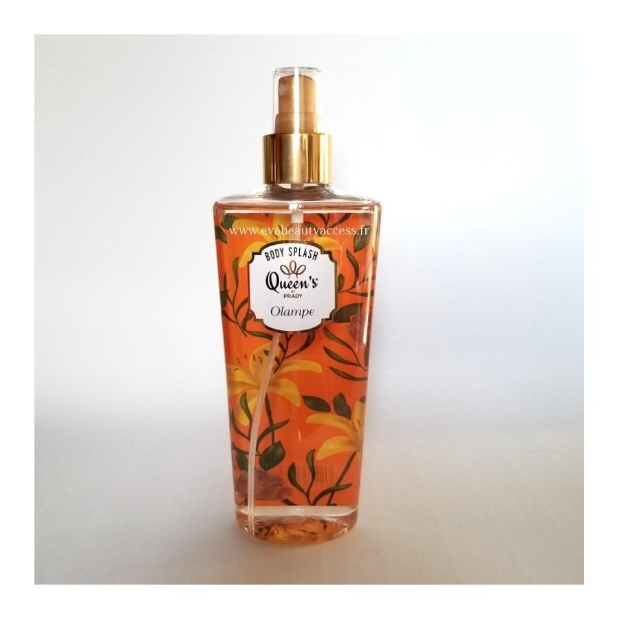 Brume Parfumée 'BODY SPLASH' - OLAMPE - QUEEN'S BY PRADY