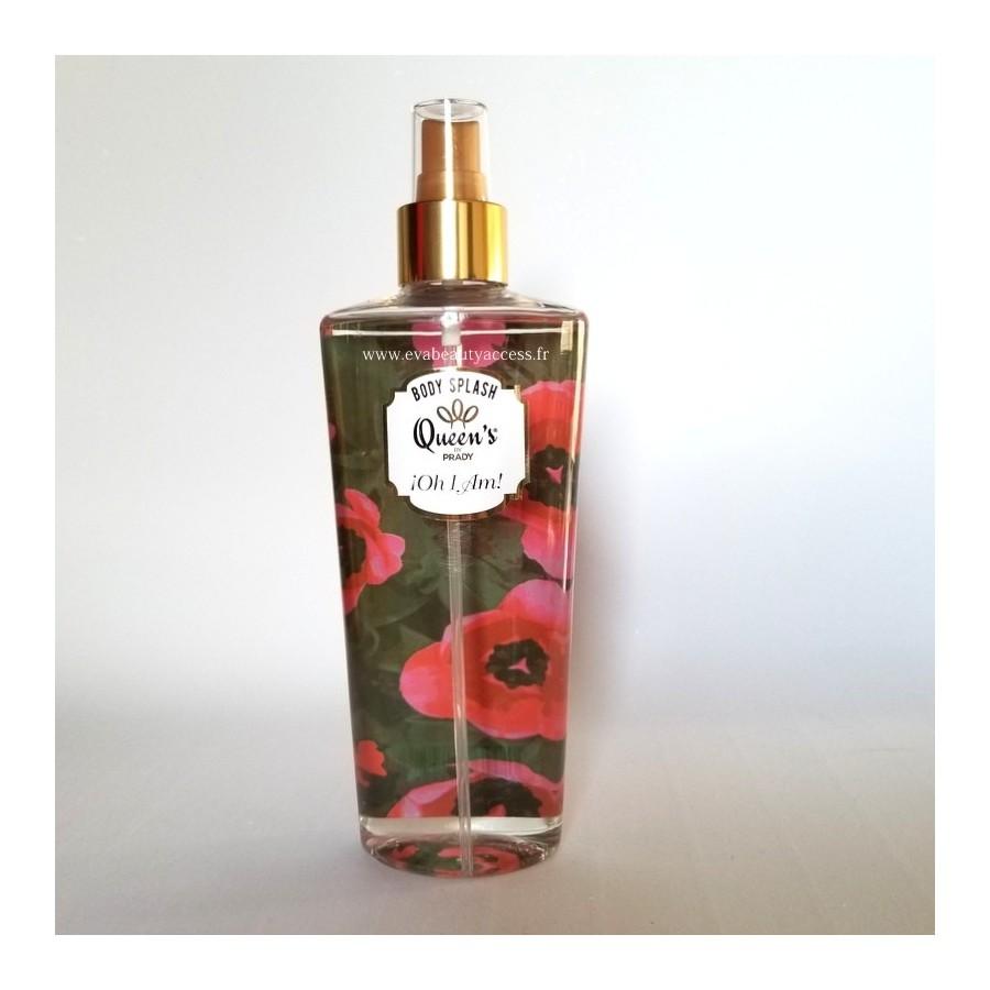 Brume Parfumée 'BODY SPLASH' - OH I AM - QUEEN'S BY PRADY