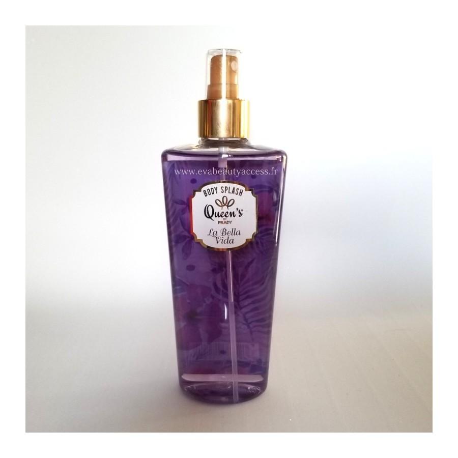 Brume Parfumée 'BODY SPLASH' - LA BELLA VIDA - QUEEN'S BY PRADY