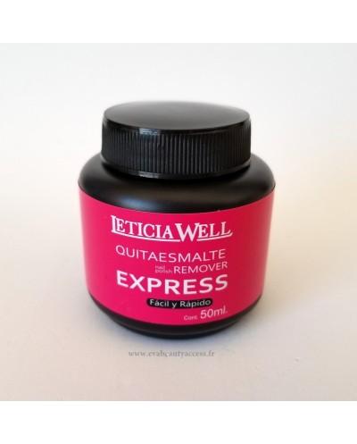 Dissolvant Express 50ml - LETICIA WELL