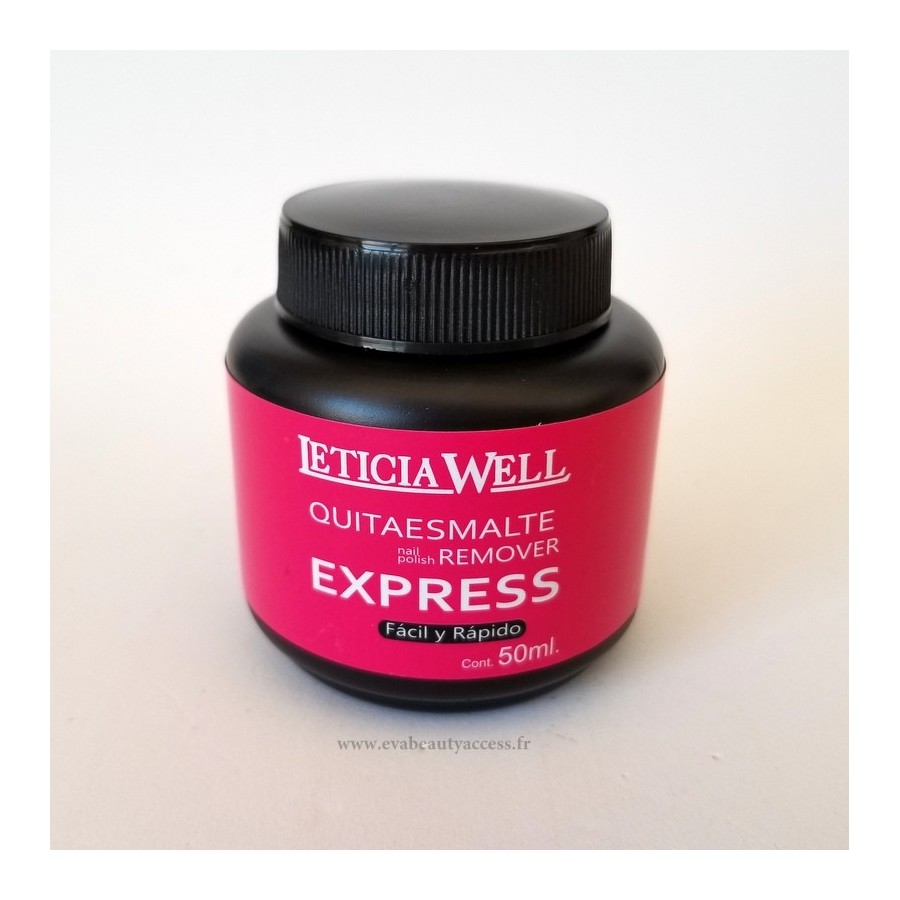Dissolvant Express 50ml - LETICIA WELL