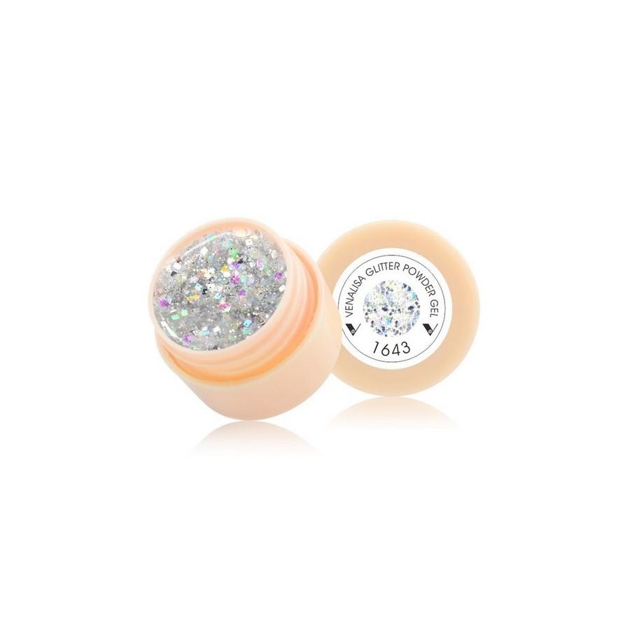 Gel UV de Couleur - REF 1643 - Paillettes