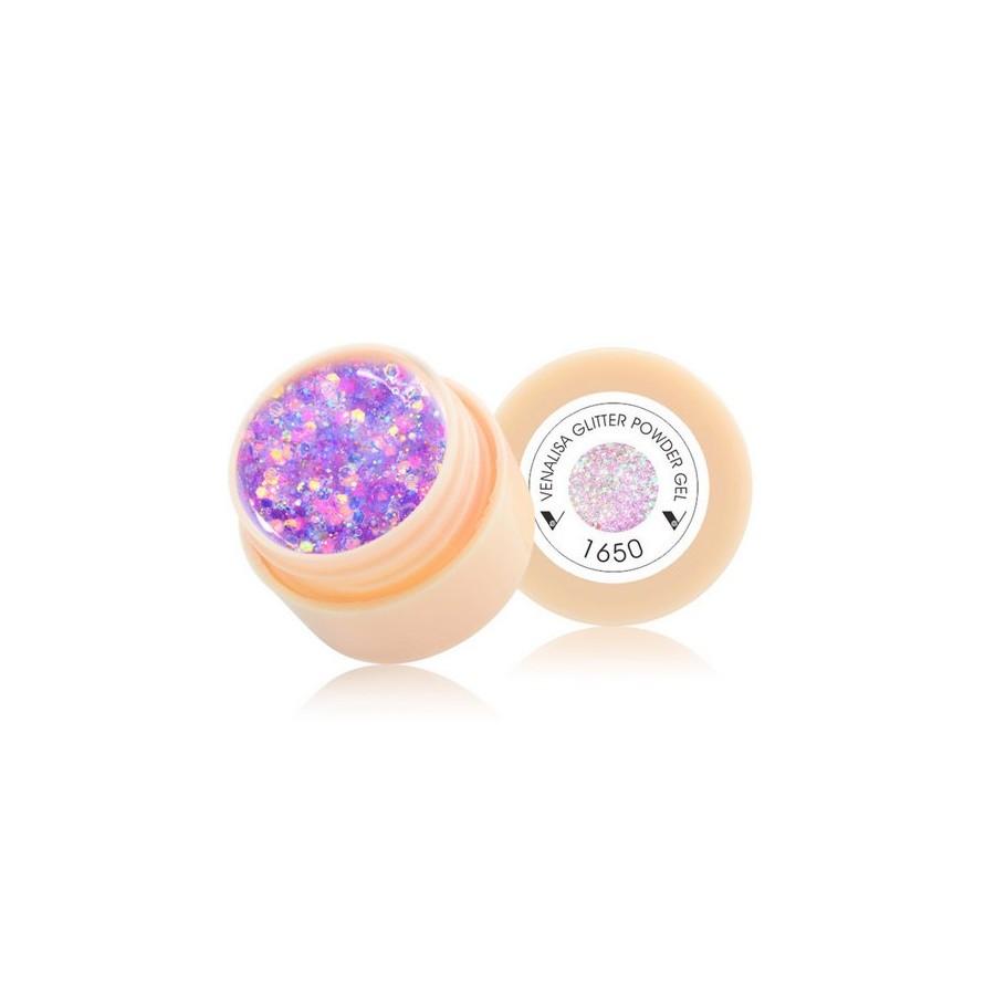 Gel UV de Couleur - REF 1650 - Paillettes