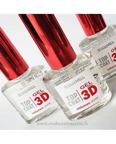 Top Coat 3D Effet Gel 'VOLUME SHINE' - LETICIA WELL