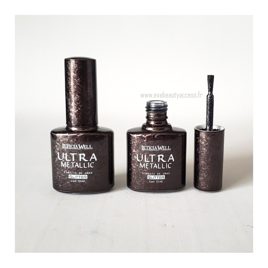 Vernis 'ULTRA METALLIC GLITTER' - N°86 - LETICIA WELL