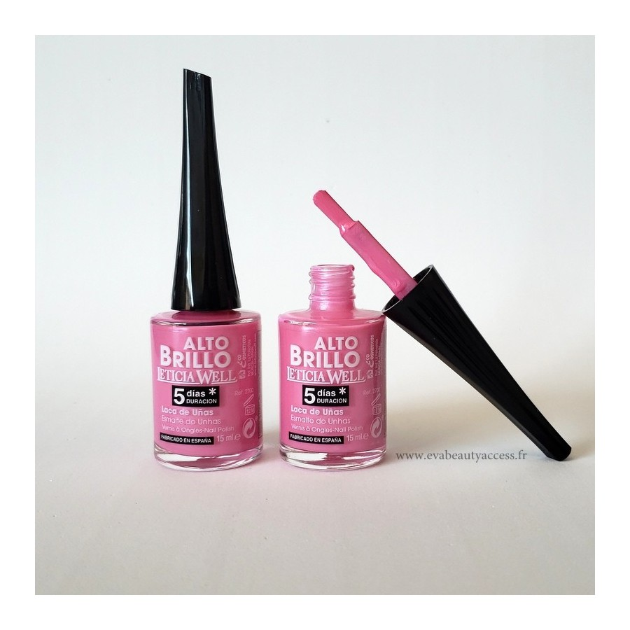 Vernis Haute Brillance 5 Jours - N°630 - LETICIA WELL