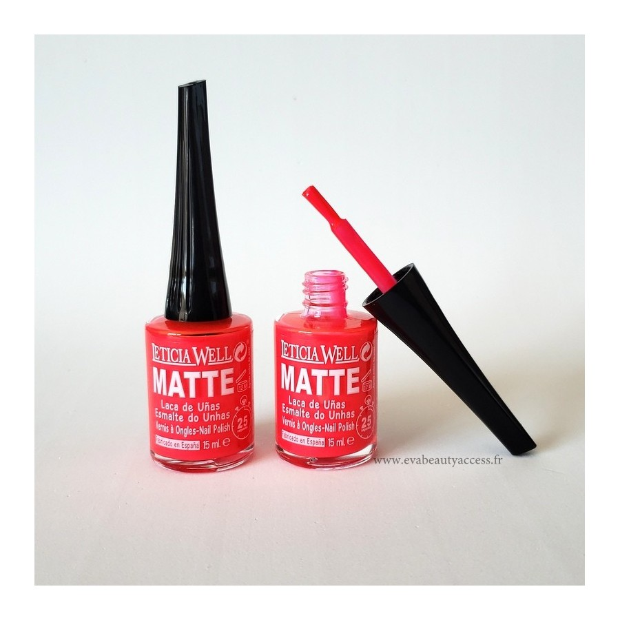 Vernis Matte 15ml Séchage Rapide (25 secondes) - M28 - LETICIA WELL