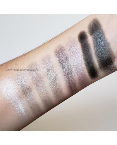 Palette 8 couleurs 'SPACE EYESHADOW' - Noir/Gris - D'DONNA