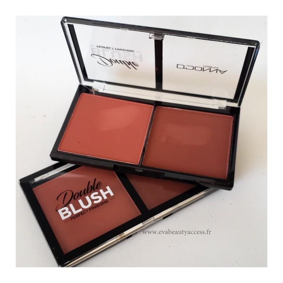 Double Blush 'FINITION PARFAITE' - N°1 - D'DONNA