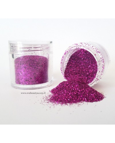Grand Pot Paillette Maquillage - Corps - Ongles - Magenta