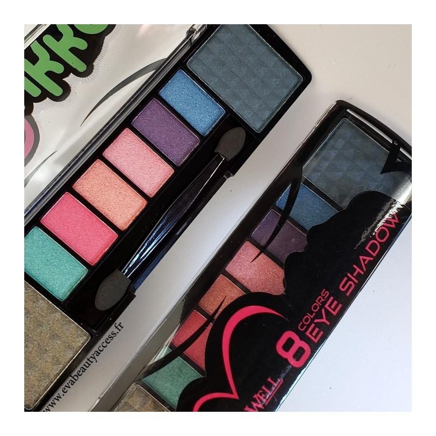 Palette 8 Eyeshadow Colors 34036 - N°34 - LETICIA WELL