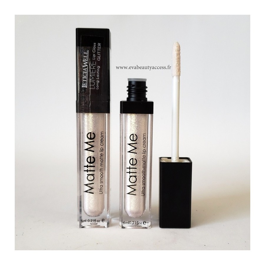 Lipgloss 'LUMIERE' Matte Me Longue Tenue - N°112 - LETICIA WELL