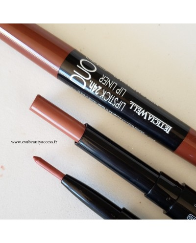 Duo Lipstick + Lip Liner 24H - N°89 - LETICIA WELL