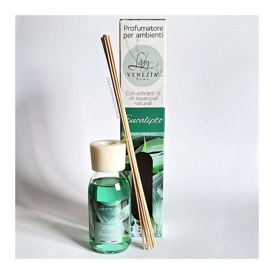 Diffuseur de Parfum d'Ambiance - EUCALYPTUS - 125ml - LADY VENEZIA
