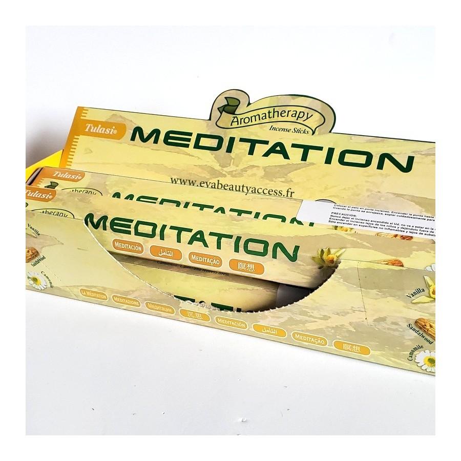 20 Battons d'Encens - MEDIATION - TULASI - INDE