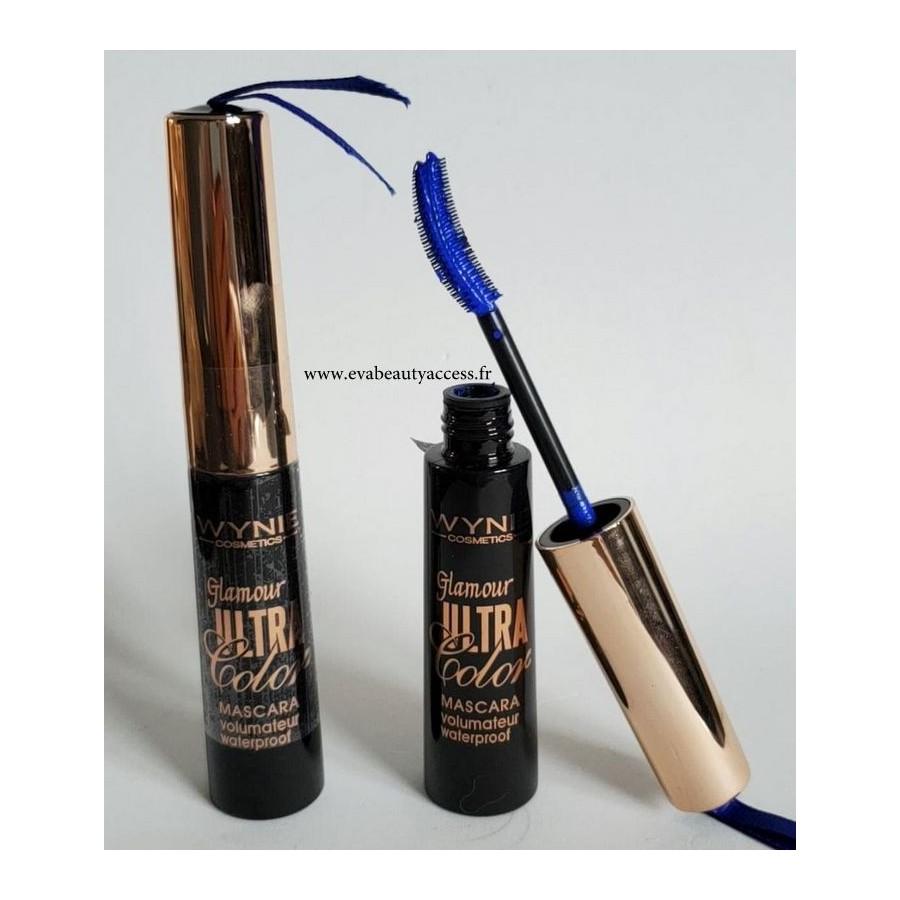 Mascara 'GLAMOUR ULTRA COLOR' - Bleu - WYNIE
