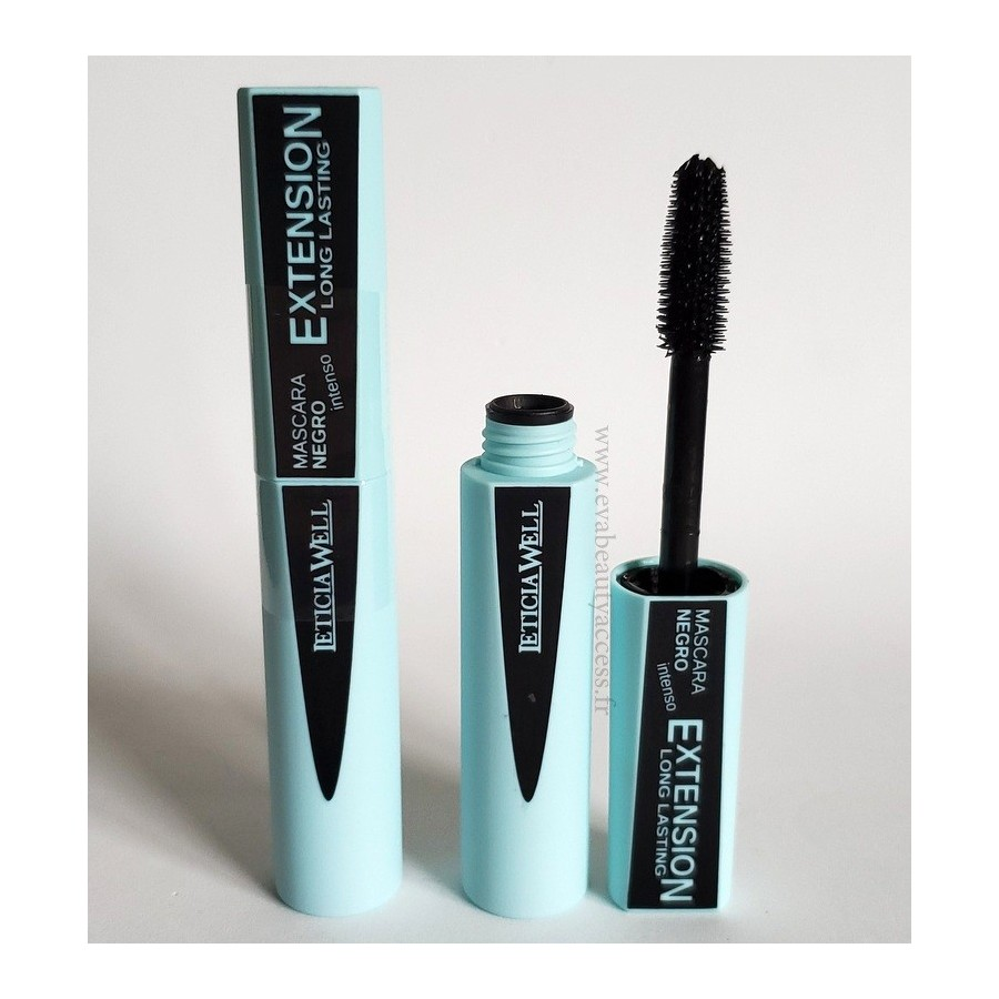 Mascara 'EXTENSION LONG LASTING INTENSE' - Noir - LETICIA WELL