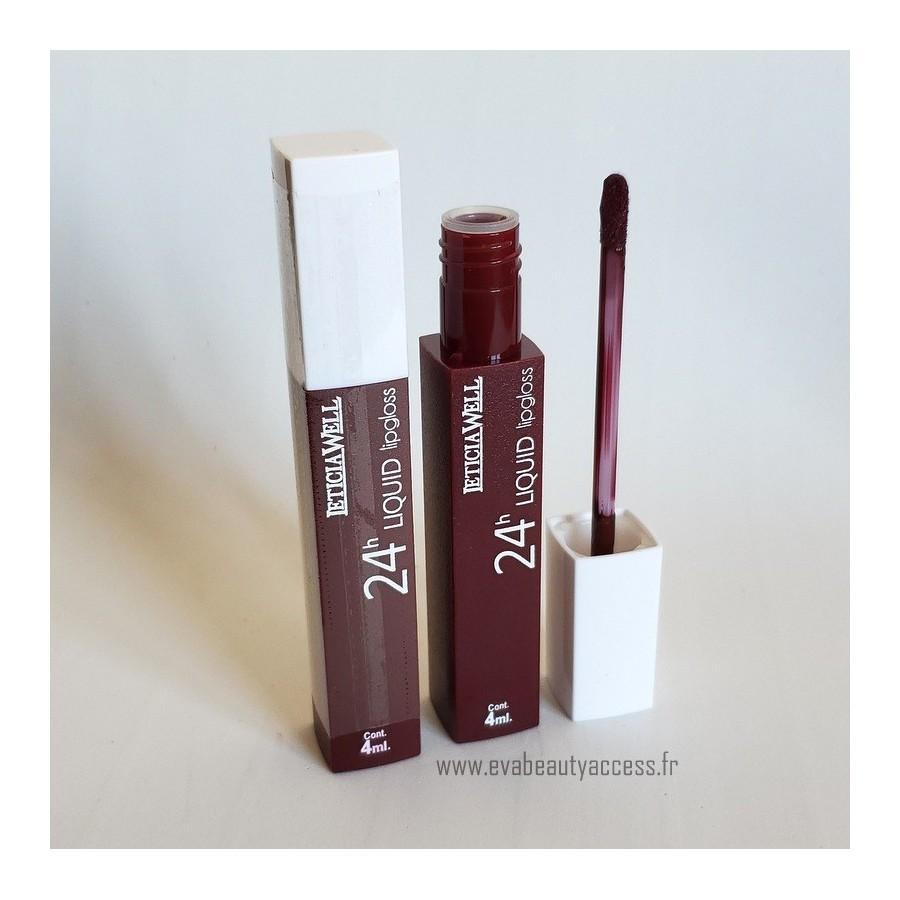 Rouge à Lèvre Liquide '24H LIQUID LIP GLOSS' - N64 - LETICIA WELL