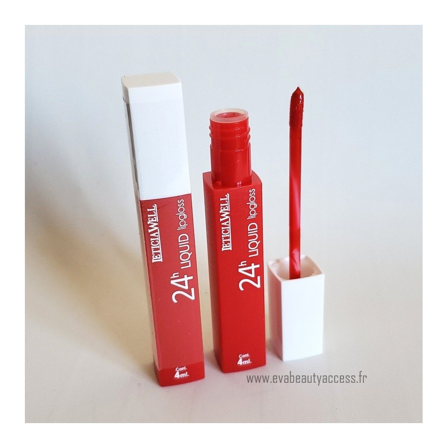 Rouge à Lèvre Liquide '24H LIQUID LIP GLOSS' - N66 - LETICIA WELL