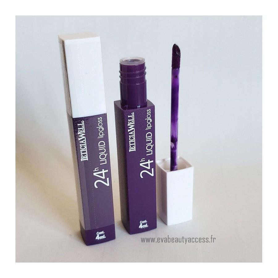 Rouge à Lèvre Liquide '24H LIQUID LIP GLOSS' - N67 - LETICIA WELL