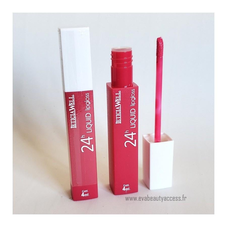 Rouge à Lèvre Liquide '24H LIQUID LIP GLOSS' - N70 - LETICIA WELL