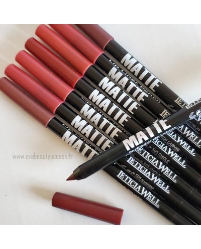 Crayon Lèvre 'LIP LINER PENCIL MATTE' - LETICIA WELL