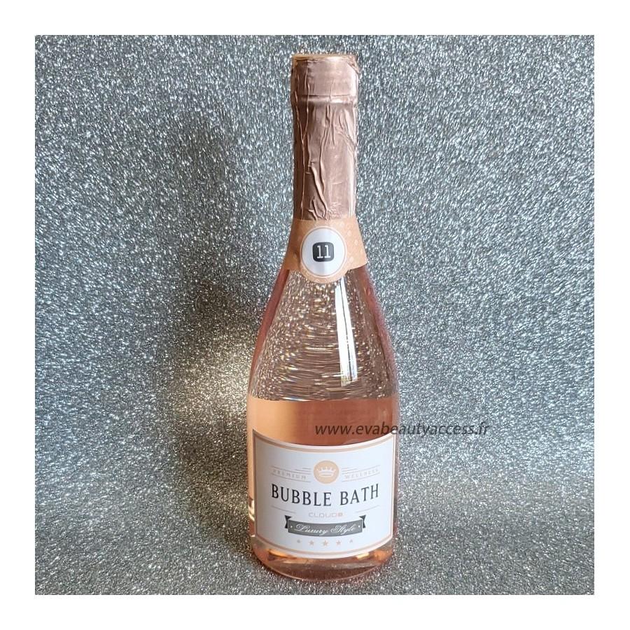 Bouteille 'BUBBLE BATH' Gel Douche Bain Moussant 750ml - Champagne Rosé