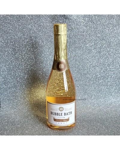 Bouteille 'BUBBLE BATH' Gel Douche Bain Moussant 750ml - Champagne
