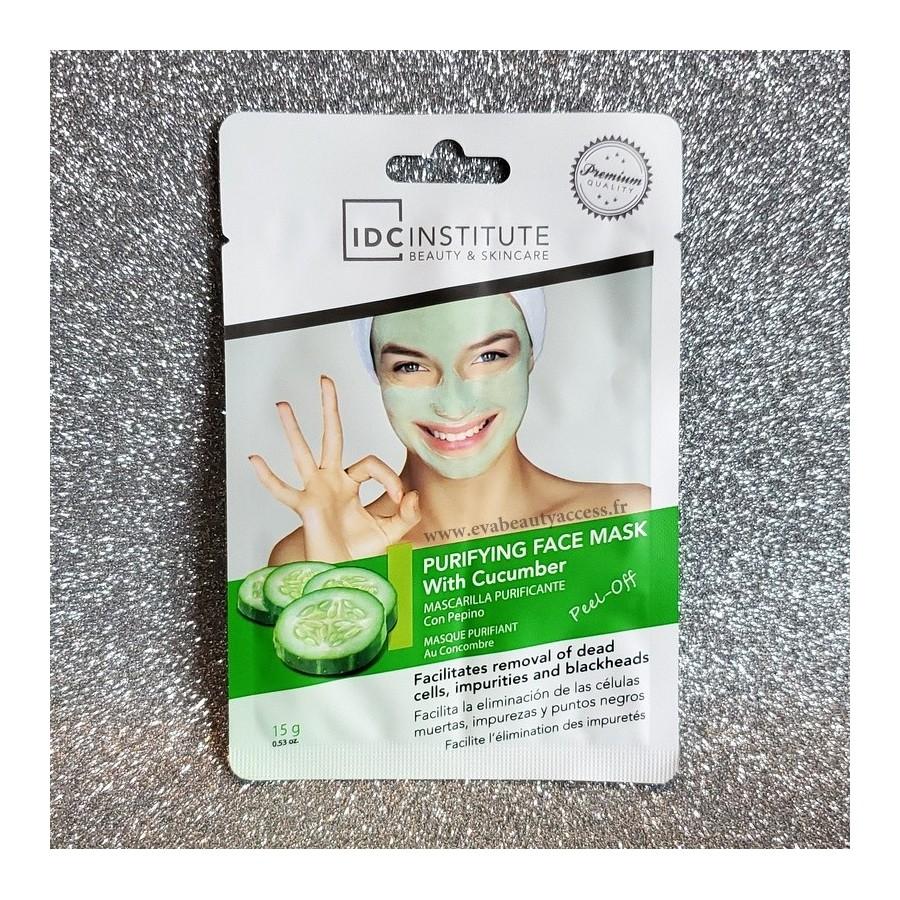 Masque Visage Purifiant au Concombre - IDC INSTITUTE