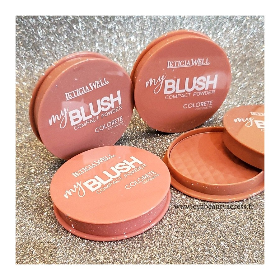 'MY BLUSH' Fard à Joue Compact - LETICIA WELL
