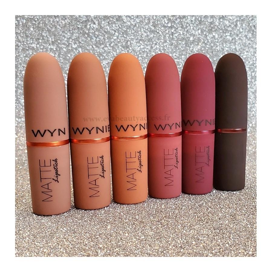 Rouge à Lèvre Mat Hydratant - WYNIE