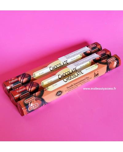 20 Battons d'Encens - CHOCOLAT - TULASI - INDE