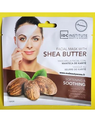 Masque Visage en Tissu au Beurre de Karité - IDC INSTITUTE
