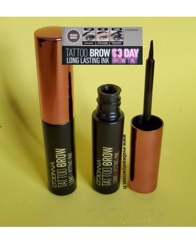 Tattoo Brown/Sourcils Longue Tenue - MEDIUM BROWN - D'DONNA